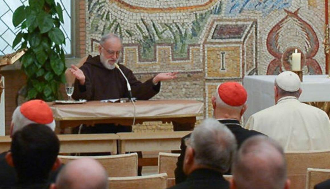 Frei Cantalamessa fala sobre a embriaguez do Espírito Santo na terceira pregação do Advento