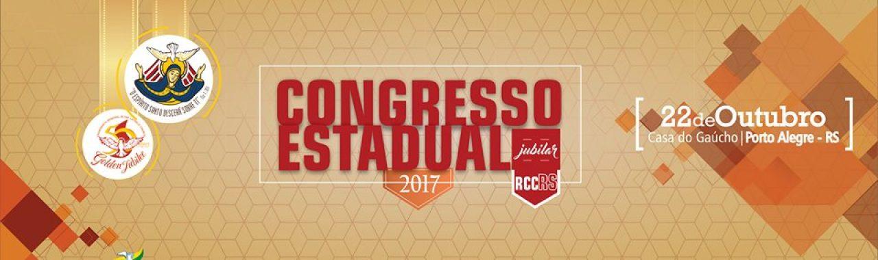 Inscrição Congresso Estadual RCC 2017