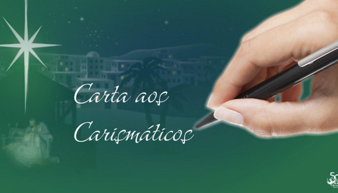 Carta aos Carismáticos – É Natal!